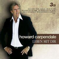 "HOWARD CARPENDALE ""LEBEN MIT DIR"" 3 CD BOX NEUWARE"