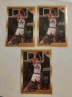 1998-99 Topps Rookie Card #199 Vince Carter Lot (3)