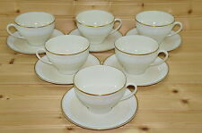 "Gorham Ariana (6) Cups, 2 5/8"" & (6) Saucers, 6"""