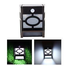 Solar Power Garden Balcony Lamp Motion Sensor Box LED Lights Constantly