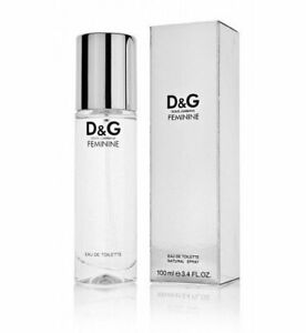D&G Feminine Eau Toilette 100ml vap. P&G Prestige. VINTAGE. Very Rare. Bottle.
