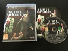 PS3 : Sherlock Holmes Crimes and punishments