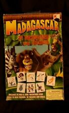 New 34 Dream Works Madagascar Valentine Day Cards & 35 Tattoos Box damage