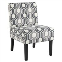 Upholstered Accent Chair for Living Room Modern Casual Sofa Armless Side Chairs