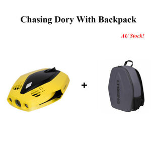 Free Ship Chasing Dory, Underwater Drone, 60min Runtime, 15 Max Depth,+ Backpack