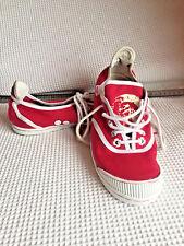 Ladies Gen DIESEL Only The Brave Trainers Pimsolls Sneakers in Red US 7.5 VGC 38