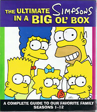 The Ultimate Simpsons in a Big Ol' Box by Matt Groening (2002, PB, 1st Ed.)