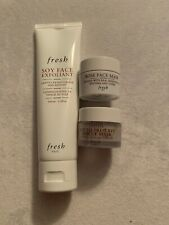Fresh Soy Face Exfoliant Gently Resurfaces & Refines 3.3oz - 3 Items New