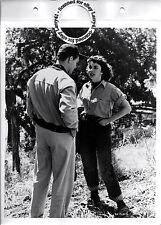 LINEN BACKED Jennifer Jones, Karl Malden studio key book still RUBY GENTRY (1952