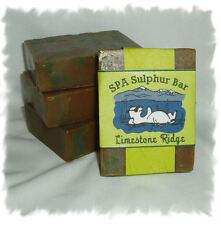 Peppercorn Lime _ Limestone Ridge _ SPA Sulphur Mineral Soap Made in Montana