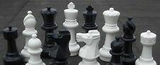 """MegaChess Giant Plastic Chess Set with a 12"""" King"""
