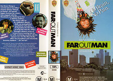 FAR OUT MAN -Tommy Chong & Rae Dawn Chong -VHS -PAL - NEW - Original Oz release