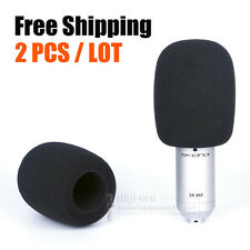 WindShield Microphone Sponge Foam Cover For Rode K2 NT1A NT1000 NTK NT-USB NT2A