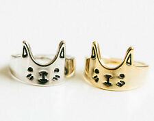 New Fashion  Gold Plated Lovely Cat Ring