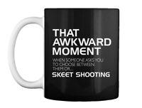 Akward Moment Skeet Shooting Gift Coffee Mug
