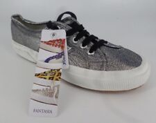 SUPERGA 2750 LAMEW GREY - TRAINER'S SIZE UK 5 EU 38 NH086 PP 03