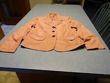 Studio 1 girls size 12 pink dressy jacket with padded shoulders