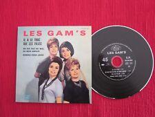 CD SINGLE EP LES GAM'S IL A LE TRUC OUI LES FILLES
