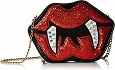 RARE! NEW Betsey Johnson Kitchi Glampire Vampire Gothic Purse Shoulder Bag Sexy