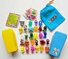 Gogos Crazy Bones Figure Toy Figures Bundle Lot Collection Fuzzy Glittery Old
