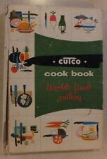 1961 CUTCO COOK BOOK MEAT & POULTRY COOKERY VOL 1 BY M. MITCHELL HC WEAR-EVER
