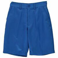 Slazenger Kids Boys Golf Shorts Junior Pants Trousers Bottoms Lightweight Zip