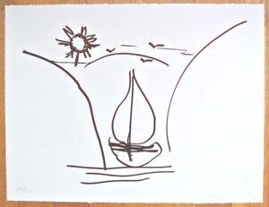 JEFF KOONS handsign limit. numbered orig print MOST EXPENSIVE ARTIST  WORLDWIDE!