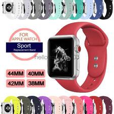 Silikon Sport Armband Für Apple Watch Band iWatch Series 5 4 3 2 44/40mm 42/38mm