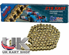 "Kart 104 Link CZ ""O"" Ring Kart Chain 219 Super Quality, Rotax, Honda, TKM, Cadet"