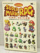 SUPER MARIO RPG Guide Final Edition SFC Book SG82*