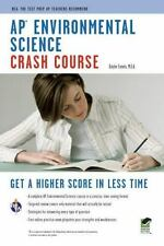 AP Environmental Science Crash Course (Paperback or Softback)