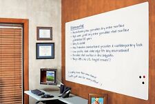 Best-Rite Elemental Magnetic Dry Erase Whiteboard Peel-n-Stick Skin, 4 x 6 Feet