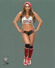 "WWE PHOTO NIKKI BELLA 8x10"" OFFICIAL STUDIO WRESTLING PROMO TOTAL DIVAS STAR"