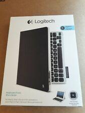 New Logitech 920-008521 Keyboard Folio Case Black for iPad 2, iPad 3rd & 4th Gen