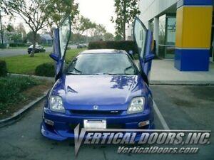 Vertical Doors - Vertical Lambo Door Kit For Honda Prelude 1997-02 -VDCHP9702