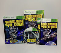 Borderlands The Pre-Sequel! Xbox 360 Video Game Complete w/Manual Tested Works