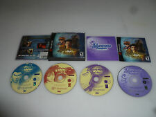 SEGA DREAMCAST VIDEO GAME COMPLETE W CASE & MANUAL SHENMUE PASSPORT 4 DISC RARE