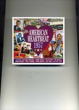 AMERICAN HEARTBEAT 1957 - PERRY COMO SAM COOKE FATS DOMINO ELVIS - 2 CDS - NEW!!
