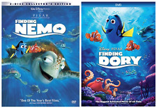 Finding Nemo, Finding Dory -Dvd- (U Pick) New & Sealed w/ Slipcover Free S/H