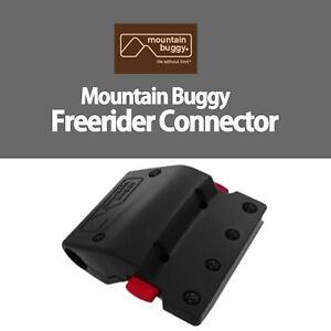 NEW Official Genuine MOUNTAIN BUGGY FREERIDER Connectors to fit BABY JOGGERS