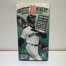 Greatest 20 Moments in Mariners History VHS