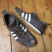 Adidas Chile 62 Brown Leather Trainers Men's UK Size 10 EUR 45 Beaters