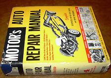 55 56 57 58 59 60 61 62 1963 Motors Repair Manual Buick Chevy Ford Pontiac Dodge