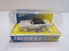 Jl Johnny Lightning T-Jet 500 Slot Car Ho White Lightning Pontiac Gto White New