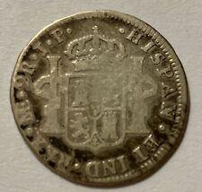 Piece 2 Reales Perou 1812 JP En Argent (N3099)