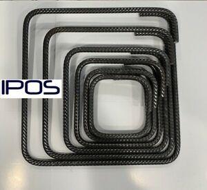 IPOS Bügel Betonstahl geschlossener 12mm 10er Pack Bewehrungsstahl Moniereisen