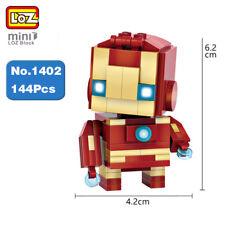 LOZ Marvel Hero Avengers Iron Man Robot Mini Diamond Nano Building Blocks Toy