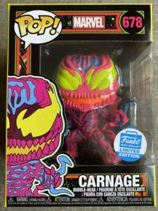 Funko Pop! Marvel #678 Carnage Vinyl Action Figures Model Toys Kids Gifts