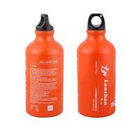 500 ml Aluminium Alloy Outdoor Camping Gas Fuel Oil Bottle Picnic Barbecue bag