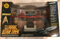 Vintage Classic Star Trek Bridge Collector Figure Set Playmates NIB Ltd. Ed 1993